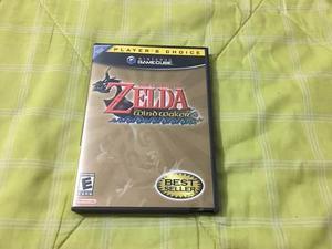 Zelda the wind waker como nueva completa nintendo gamecube