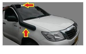 Snorkel Anfibio Modelo Anaconda Toyota Hilux Vigo Fortuner