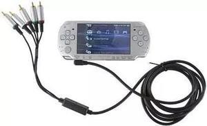 Cable de tv audio/video componente para psp. juega en grande