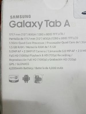 Samsung galaxy tab a6 nueva - cali