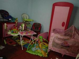 Juego de alcoba para niña, juguetes y accesorios - bogotá
