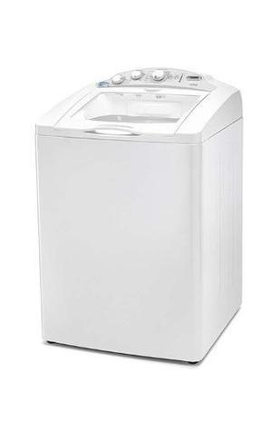 Lavadora 19kg blanca 7 programas automaticos sistema automat