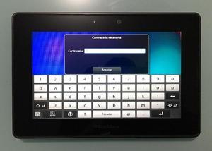 Vendo tablet black berry - bogotá