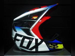 Casco fox v2 nuevo s motocross mx dirt downhill bmx