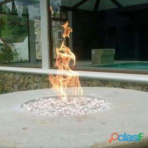 Espejos de agua b.b.q chimeneas exteriores