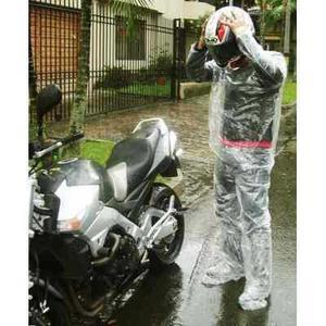 Impermeable moto o bicicleta termosellado portable souvenir