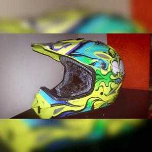 Casco shaft unisex motocross,bicicross - bogotá