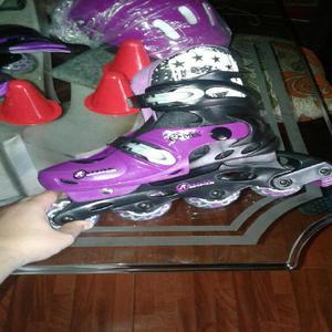 Se vende patines y kit patinaje nuevo - candelaria