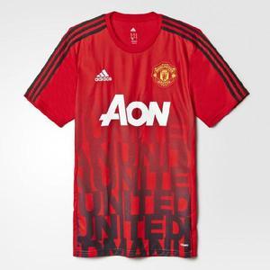 Camiseta original manchester united calentamiento -