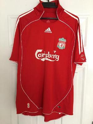 Camiseta adidas liverpool 2007, talla l - bogotá