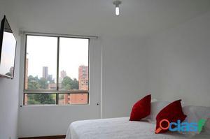 Alquiler de apartamento amoblado en medellin el poblado sector provensa código 336