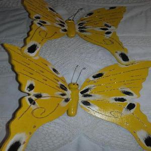 Vendo mariposas en madera - cartagena de indias