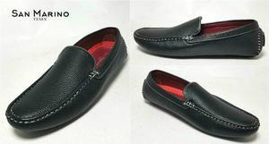 Zapatos mocasines hombre san marino italy + envio gratis