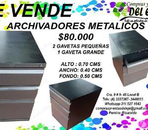 Archivadores metalicos