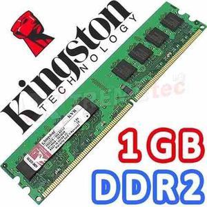 Memoria ram ddr2 de 2 gb y de 1 gb garantia!! 3 meses -
