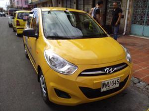 Taxi hyundai i10 modelo 2016 venpermuto - bogotá
