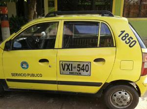 Vendo Taxi Modelo 2006 - Neiva