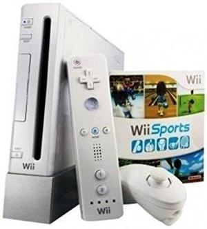 Wii con wii sports resort - blanco
