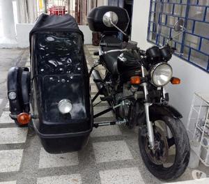 Gs 500 suzuki con sidecar velorex
