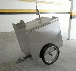 Remolque en Acero de Tiro Moto O Carro - Bucaramanga