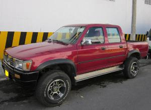 Toyota hilux 4x4, 1996, doble cabina y platon. - bucaramanga