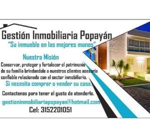 Gestion inmobiliaria popayan