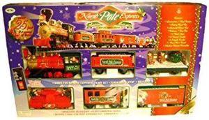 Eztec escala g polo norte expreso juego de tren de navida