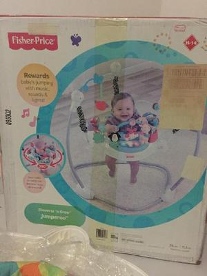 Fisher-price jumperoo zoo party saltarín - floridablanca
