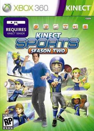 Juego xbox 360 kinect sport 2