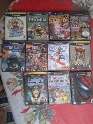 Lote de juegos originales de gamecube