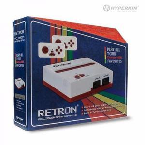 Consola retron 1 blanco rojo compatible nintendo nes clasico