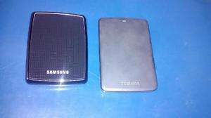 Vendo discos duros de 1 tera y 500g. y de 320 gb programado