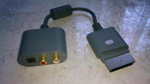 Adaptador de audio optico xbox 360 - neiva