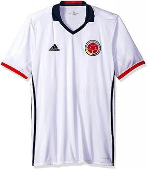 Camiseta local de colombia 2016 original adidas talla s