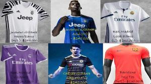 Camisetas originales de equipos europeos en promocion -