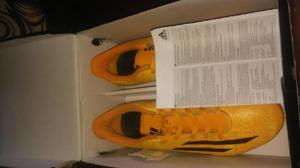 Guayos adidas f5 fg messi color naranja - bogotá