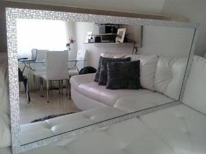 Espejo moderno sala anuncios abril clasf for Espejos decorativos modernos bogota