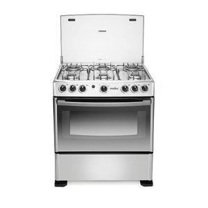 Estufa de piso gas 30 horno inox mabe emc30cgx-4