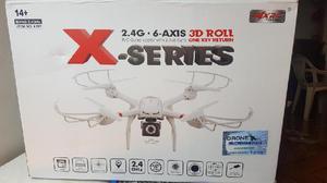 Drone cuadricoptero mjx x101 con camara fpv 50cm de diametro
