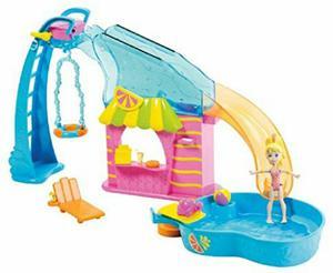 Polly pocket flip 'n swim piscina - bogotá