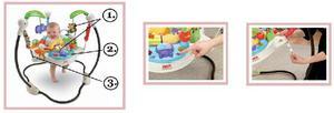 Se vende jumperoo fisher price casi nuevo, para bebe -