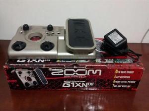 Pedalera multiefectos zoom g1xn incluye adaptador zoom -
