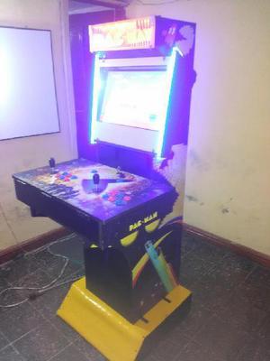 Maquina arcade pacman theme - bogotá