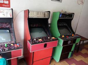 Maquina arcade con juegos clasicos - medellín