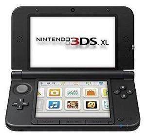 Nintendo 3ds xl - azul / negro
