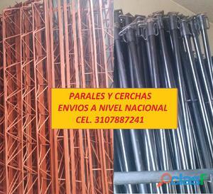 PARALES METALICOS O PUNTALES, Y CERCHAS PARA CONSTRUCCIÓN, USADAS EN VENTA