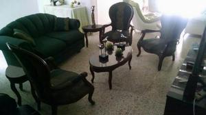 Juego de sala isabelinas - villa del rosario