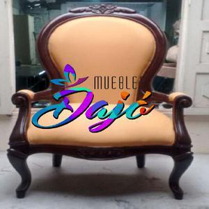 Preciosas sillas isabelinas solo en muebles dajó -
