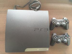 Sony playstation 3 160 gb negro. 2 controles. usada