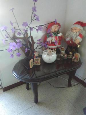 Mesa centro en madera - medellín